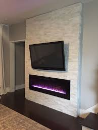 As mentioned in an earlier post, I purchased an electric, wall-mount  fireplace and ...