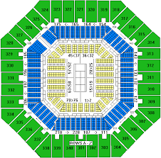Arthur Ashe Stadium Seating Chart Lower Promenade 2019 Us Open Tennis Package Opening Rounds Package Hotel