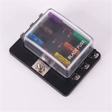 compare prices on fuse box auto online shopping buy low price 6 way dc 32v circuit car fuse box set 32v 30a boat automotive auto blade fuse