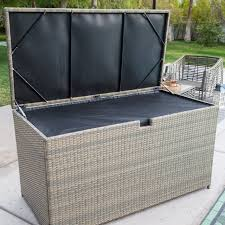 deck boxes awesome patio cushion storage box outdoor