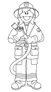 Small Picture Printable Fireman Coloring Pages Printable Firefighter Coloring