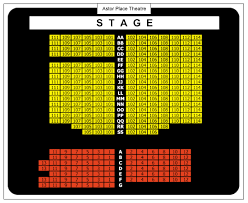 Blue Man Group Nyc Seating Chart Astor Place Seating Chart Ticket Solutions