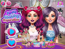attend the funky preparations before the wedding with these two bridesmaids wedding gamesbridesmaidswedding matchesbridesmaidwedding