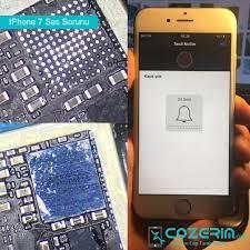 IPhone 7 Ses Yok Ses Çıkmıyor – Cozerim.com | Profesyonel IPhone IPad Tamir  Hizmetleri