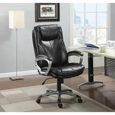 serta home big and tall executive office chair roasted chairs chestnut puresoft faux leather dining wooden