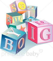 Lettering Blocks Clipart Baby Blocks Clipart