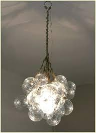 bubble glass chandelier a