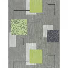Rasch Homestyle Domino 277524 Tapete Kreise Streifen Struktur Grau