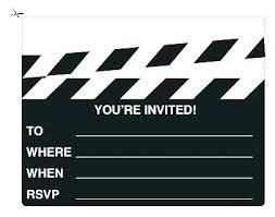 Movie Night Invitation Templates Free Movie Night Party By Crafts Movie Party Invitation Template