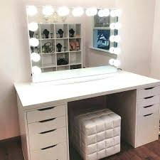 bedroom vanity with lights. Bedroom Makeup Vanity With Lights Sets Table Best Ideas .