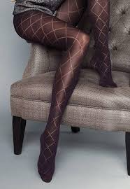 Patterned Pantyhose Mesmerizing Rombo Grandi Diamond Patterned Tights By Veneziana Dress My Legs