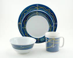 Melamine Dinnerware Designs Coastal Melamine Dinnerware Nautical Non Skid Melamine