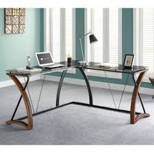 office desk with glass top. wonderful office opaque glass top l desk with right return  61 for office with
