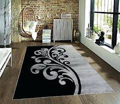 black and white rugs 8x10 white and gray rug gray and black fl area rug gray