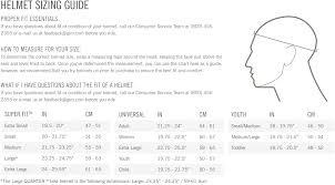 Bike Helmet Size Chart Giro Register Mips Cycling Helmet