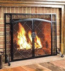fireplace mesh curtain home depot fireplace mesh