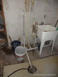 dishwasher to basement floor drain