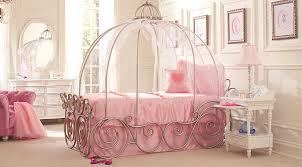 Disney Princess White 6 Pc Twin Carriage Bedroom