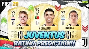 FIFA 20 | PIEMONTE CALCIO (JUVENTUS) PLAYERS RATING PREDICTION!! | FT.  RONALDO, DE LIGT, DYBALA...