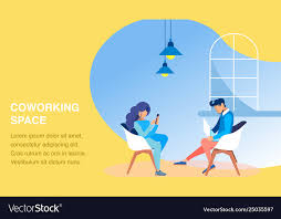 Office Banner Template Office Coworking Space Banner Template