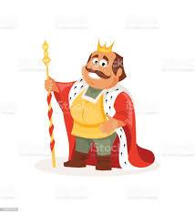 Vetores de Rei Dos Desenhos Animados Ilustração Vetorial e mais imagens de  Adulto - iStock