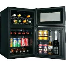 beverage refrigerator under counter fridge frosted glass door for home mini with front center wine