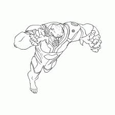 Ultimate Spiderman Kleurplaat Printen Leuk Voor Kids