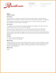 advertising proposal sample letter proposal template  6 advertising proposal sample letter