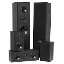 speakers home. avhtb surround sound home theater 5.0 speaker system speakers