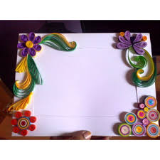 Paper Quilling Flower Frames Paper Quilling Photo Frame In India Shopclues Online