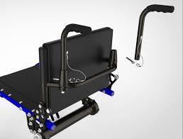 push handle. push handles bolt-on w/quickrelease handle