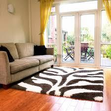 Zebra Living Room Decorating Contemporary Studio Apartment Decorating Ideas White Leatherette