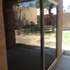 dog scratched sliding door repair phoenix az glass restoration guru dog scratched sliding door repair up