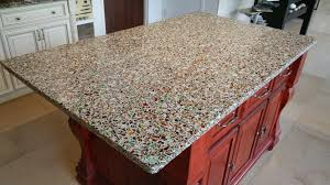 recycled glass countertops sustaility strength