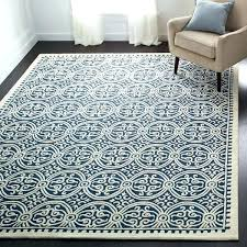 navy and white striped runner rug blue furniture cool handmade wool target