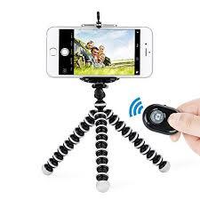 Octopus Style <b>Portable</b> Tripod Stand with <b>Wireless Bluetooth</b> ...