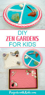 these zen gardens for kids are so easy and fun to make this is a