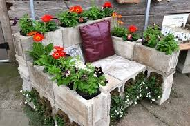 cinder block furniture. Unique Furniture Cinder Block Furniture Ideas U2013 DIY Indoor And Outdoor  And Block Furniture