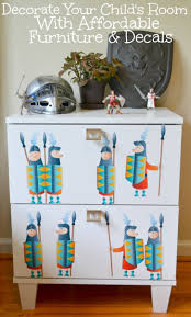 decorate your child's room with affordable furniture  decals