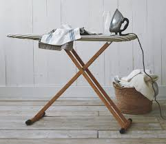 Ironing board furniture Hide Away You Might Remember The Wooden Ironing Board Used To Be Mandatory For Laundry Room Furniture Wonder Why Its Hard To Find It Now Does Not That Make Homemydesigncom Laundry Ironing Board With Bamboo Classic Style Home Design And