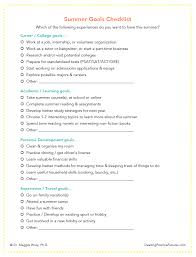 what are your summer goals printable pdf maggie wray ph  summer goals checklist clickable image