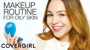 makeup routine for oily skin with mirella cover