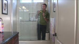 swinging glass shower door cleaner how to clean shower glass doors pertaining door cleaner plan glass shower door clean soap s