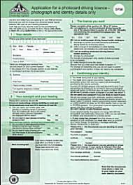 drivers licence form driving licence focus