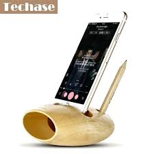 wooden phone stand personalized