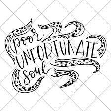 Poor Unfortunate Soul Ursula Svg Diy Vacation Shirts
