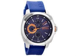 hugo boss watches hugo boss orange watches f hinds jewellers hugo boss orange 1513102 stainless steel blue resin strap watch w4585