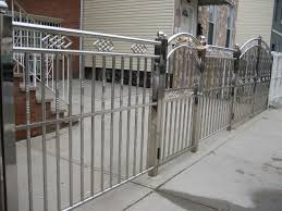 modern metal fence design. Best Fence Designs For Front Yards Panels Lowes Photos Design Ideas Jeunecul Makeovers Modern Metal Exterior P