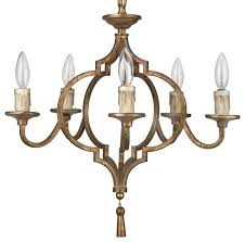 cine french country antique gold arabesque 5 light chandelier traditional chandeliers