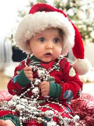 diy baby christmas pictures at home